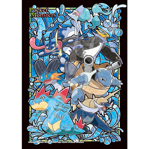 Ensky Art Crystal Jigsaw Puzzle 208-AC53 Pokemon Type Water (208 Pieces)
