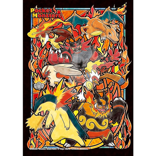 Ensky Art Crystal Jigsaw Puzzle 208-AC52 Pokemon Type Fire (208 Pieces)