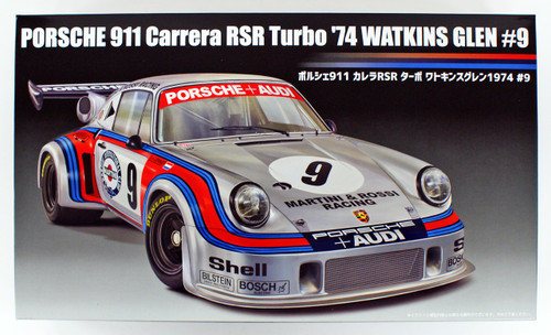 Fujimi RS-99 Porsche 911 Carrera RSR Turbo Watkins Glen 1974 #9 1/24 scale kit