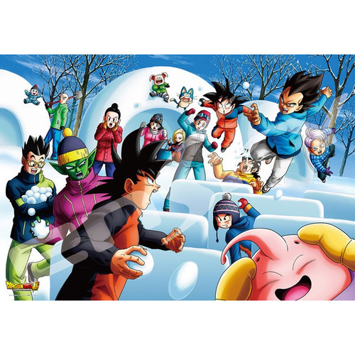 Ensky Jigsaw Puzzle 1000T-85 Dragon Ball Super Snowball Fight (1000 Pieces)