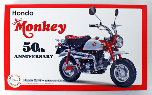 Fujimi Bike-SP Honda Monkey 50th Anniversary Special 1/12 scale kit