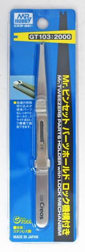 GSI Creos Mr.Hobby GT103 Mr. Tweezers Parts Holder with Lock Mechanism