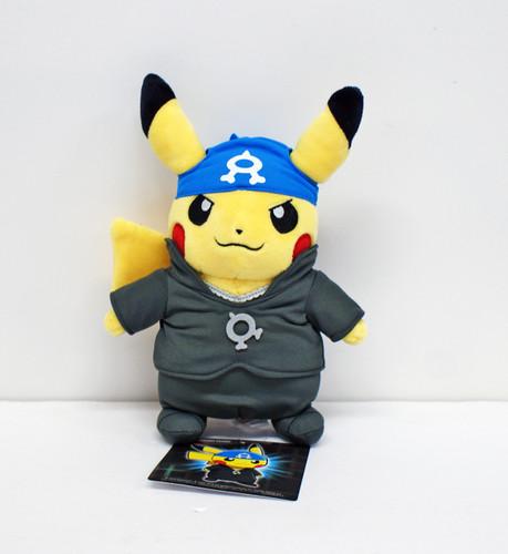 Pokemon Center Original Plush Doll Boss-Pretend Pikachu A RR 120-235813