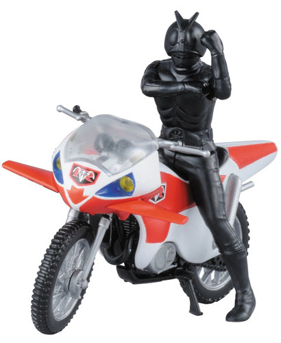 Bandai 210634 New Cyclone & Kamen (Masked) Rider 2 non scale kit (Mecha Collection Kamen Rider No.5)