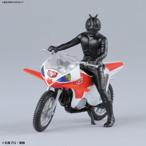 Bandai 210634 New Cyclone & Kamen (Masked) Rider 2 non scale kit (Mecha Collection Kamen Rider No.5)