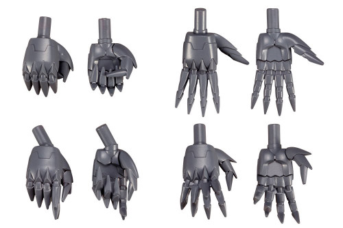 Kotobukiya MSG Modeling Support Goods MB46 Hand Unit Sharp Hand 2 Kit