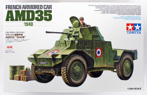 Tamiya 32411 French Armored Car AMD35 (1940) 1/35 Scale Kit