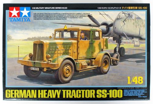 Tamiya 32593 German Heavy Tractor SS-100 1/48 scale kit