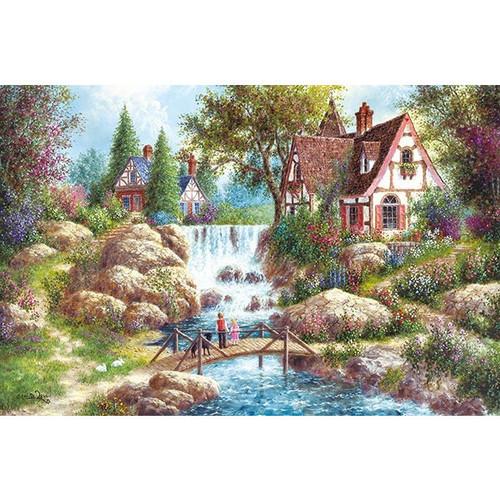 APPLEONE Jigsaw Puzzle 1000-819 Dennis Lewan Floral Liver (1000 Pieces)