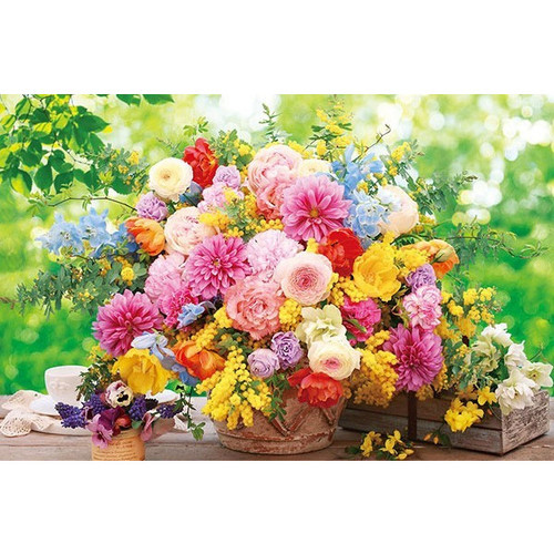 APPLEONE Jigsaw Puzzle 1000-820 Flower Sweet Memories (1000 Pieces)