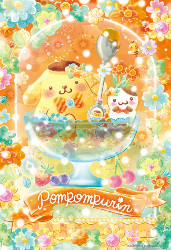 Beverly Jigsaw Puzzle 33-143 Pom Pom Purin Flower Floralium (300 Pieces)