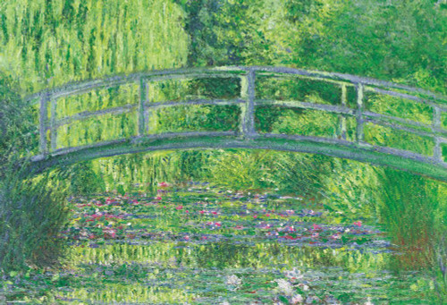 Beverly Jigsaw Puzzle 51-240 Claude Monet Water Lilies (1000 Pieces)