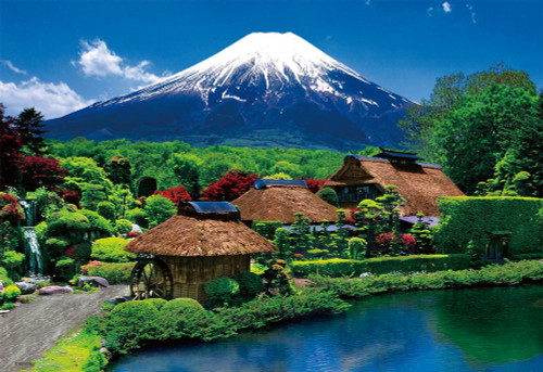 Beverly Jigsaw Puzzle 33-145 Japanese Scenery Mt Fuji Oshino Yamanashi (300 Pieces)
