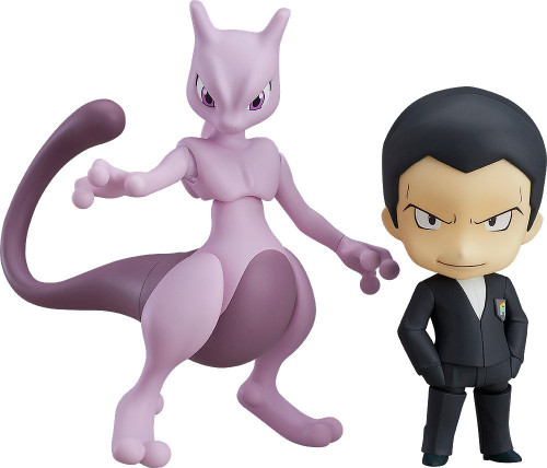 Good Smile Nendoroid 875 Giovanni & Mewtwo (Pokemon)