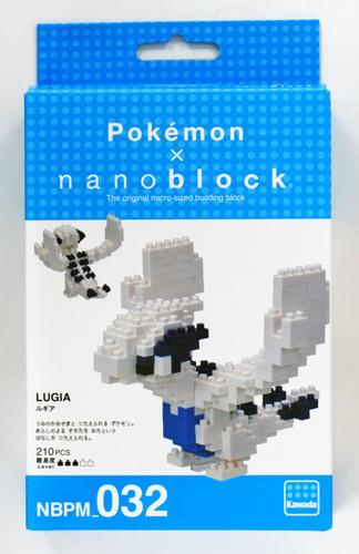 Kawada NBPM-032 nanoblock Pokemon Lugia (Rugia)