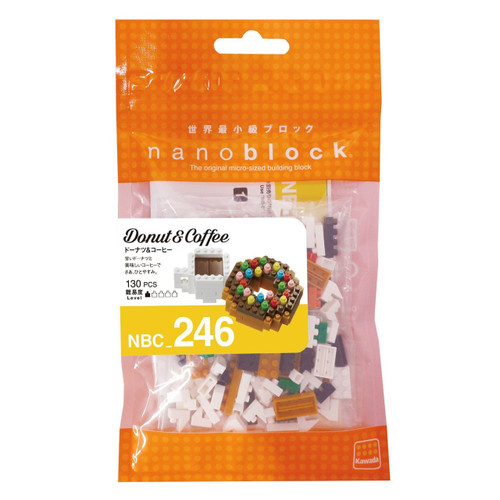 Kawada NBC-246 nanoblock Donuts and Coffee