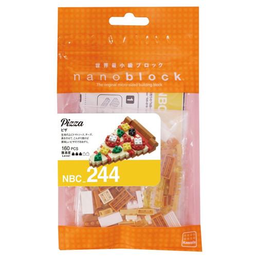 Kawada NBC-244 nanoblock Pizza