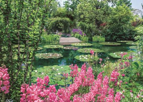 Epoch Jigsaw Puzzle 05-113 Monet's Garden Marmottan in Kitagawa Village Japan (500 Pieces)