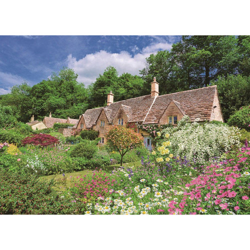 Epoch Jigsaw Puzzle 05-112 Garden Cotswolds England (500 Pieces)