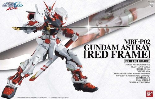 Bandai PG 584632 Gundam Seed Astray Gundam Astray (Red Frame) 1/60 scale kit