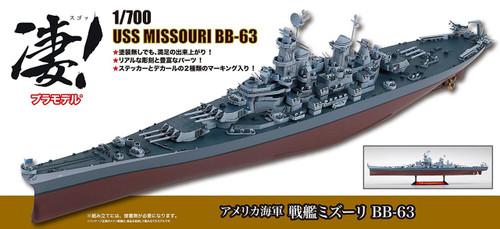 Doyusha 412701 USS Missouri BB-63 1/700 Scale Plastic Kit