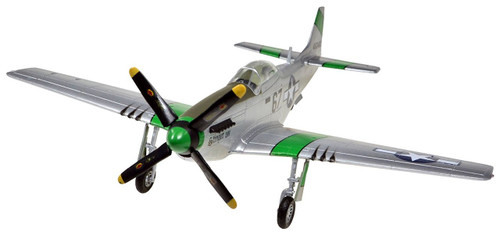 Doyusha 403051 P-51D Mustang 1/72 Scale Fully Pre-painted Plastic Kit