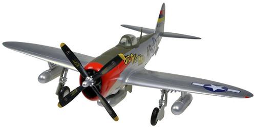 Doyusha 403068 P-47D Thunderbolt 1/72 Scale Fully Pre-painted Plastic Kit