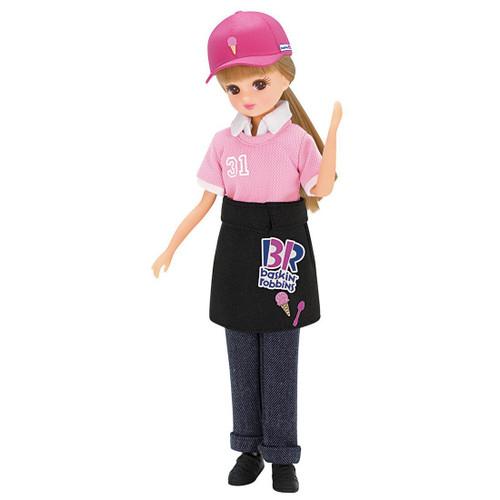 Takara Tomy Licca Doll Baskin-Robbins 31 Shop Clerk Dress 975465 <doll not included>