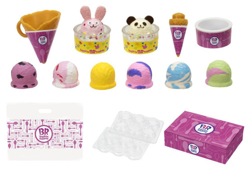 Takara Tomy Licca Doll Baskin-Robbins 31 Shop Accessories Set 976356