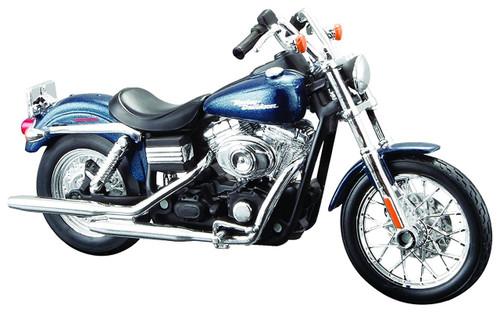 Aoshima Skynet 04415 Harley-Davidson 2006 FXDBI Dyna Street Bob 1/12 Scale Finished Model