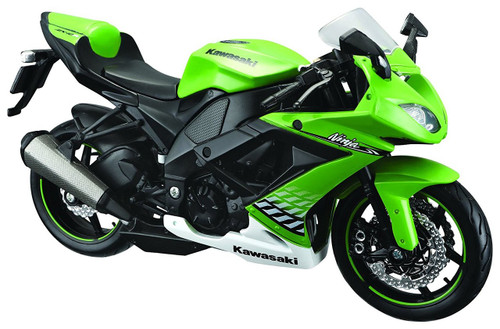 Aoshima Skynet 04521 Kawasaki Ninja ZX-10R 1/12 Scale Finished Model