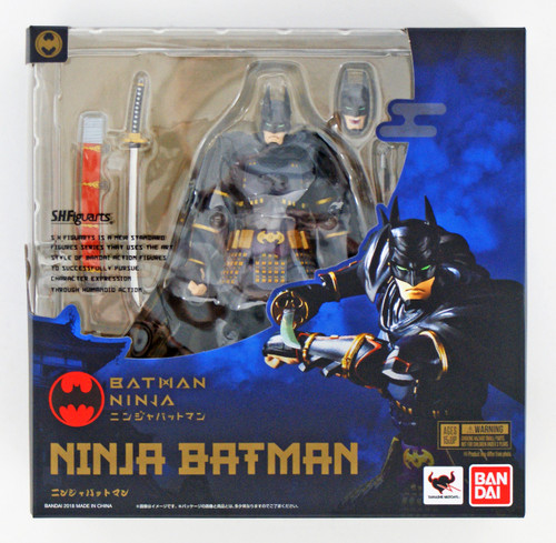 Bandai 259183 S.H. Figuarts Ninja Batman Action Figure
