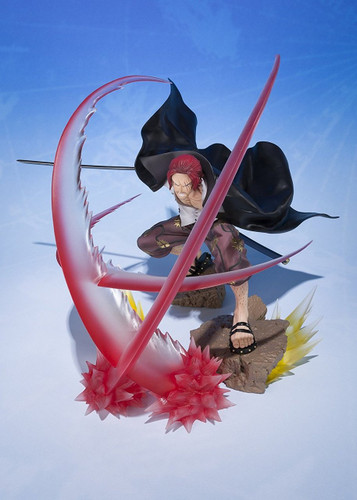 Bandai Figuarts ZERO One Piece Shanks Sovereign Haki Figure