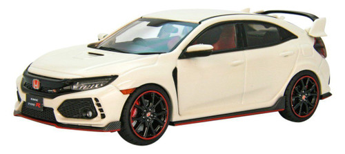 Ebbro 45572 Honda CIVIC Type R 2017 Championship White 1/43 Scale
