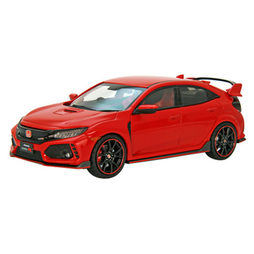 Ebbro 45574 Honda CIVIC Type R 2017 Flame Red 1/43 Scale