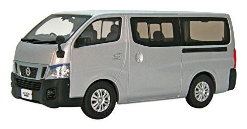 Ebbro 45595 Nissan NV350 Caravan Van DX 2012 Silver 1/43 Scale