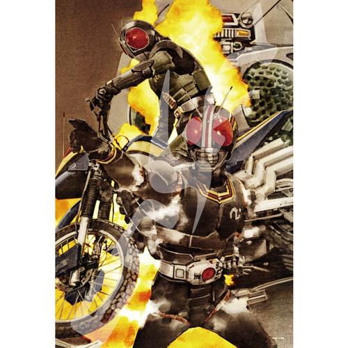 Ensky Jigsaw Puzzle 300-1330 Kamen Masked Rider Yoshihito Sugahara (300 Pieces)