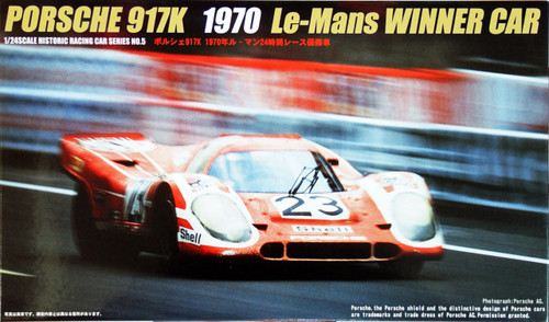 Fujimi HR5 Porsche 917K 1970 Le Mans Winner 1/24 Scale Kit