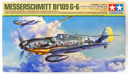 Tamiya 61117 Messerschmitt Bf 109 G-6 1/48 scale kit
