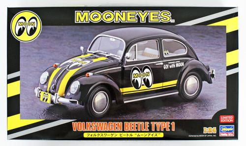 Hasegawa 20338 Volkswagen Beetle Moon Eyes 1/24 scale kit