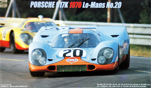 Fujimi HR15 Porsche 917K 1970 Le Mans No.20 1/24 Scale Kit