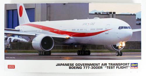 Japanese Government Air Transport Boeing 777-300ER 'Test Flight' 1/200 scale kit