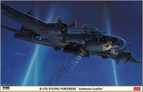 Hasegawa 02276 B-17G Flying Fortress Airborne Leaflet 1/72 scale kit