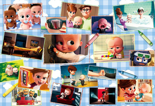 Epoch Jigsaw Puzzle 26-285s Dreamworks Animation The Boss Baby (300 Pieces)