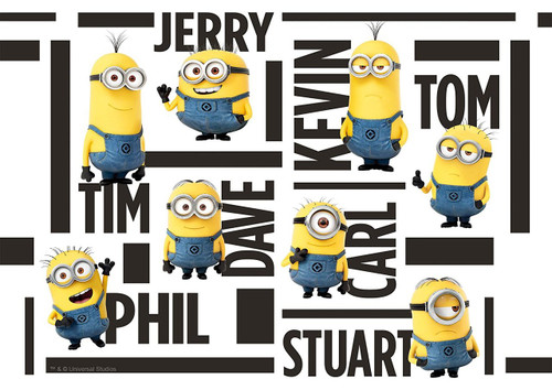 Epoch Jigsaw Puzzle 03-040 Despicable Me Minions Name (108 Pieces)