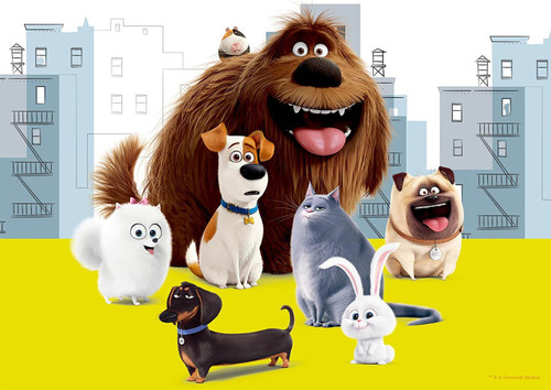 Epoch Jigsaw Puzzle 03-037 Universal Studios The Secret Life of Pets (108 Pcs)