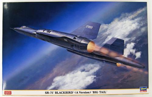 Hasegawa 02278 US Army SR-71A Blackbird Big Tail 1/72 scale kit