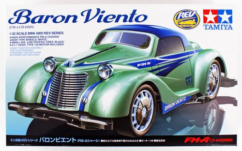 Tamiya 18709 Mini 4WD Baron Viento FM-A Chassis 1/32