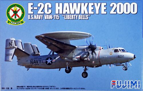 Fujimi H19 US Navy E-2C Hawkeye 2000 1/72 Scale Kit