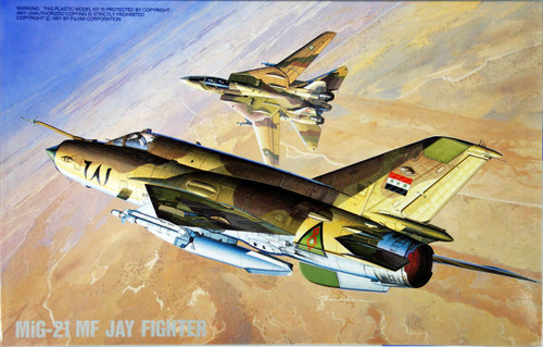 Fujimi H24 Mig 21 MF JAY FIGHTER 1/72 Scale Kit